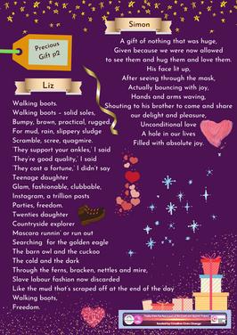 Week 6 writing exercise - Precious Gift
