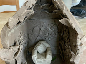 Clay rooms are spreading - Soon we will have a mansion!