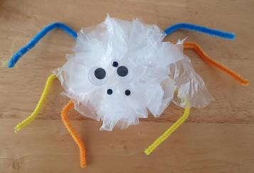 RECreate session 2 Plastic bag monsters