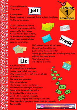 Week 8 theme - Licking envelopes 1.png