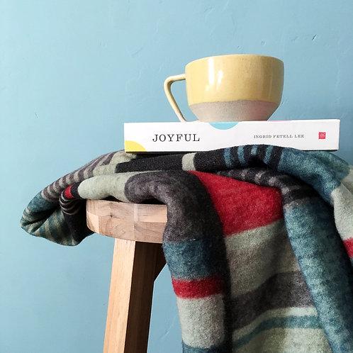 Reinvented  Atkinson vintage wool blanket