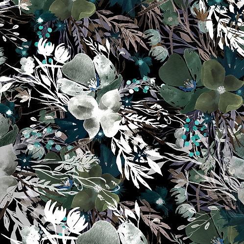 Baby muslin - Midnight Dream Gardens