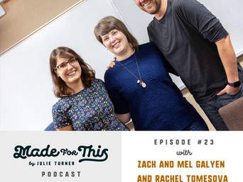 Made For This Podcast-Episode 25: Zack and Mel Galyen and Ráchel Tomešová