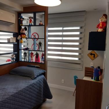 quarto infantil e closet / brinquedoteca recreio