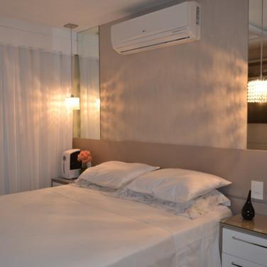 quarto casal com mini closet jacarepaguá