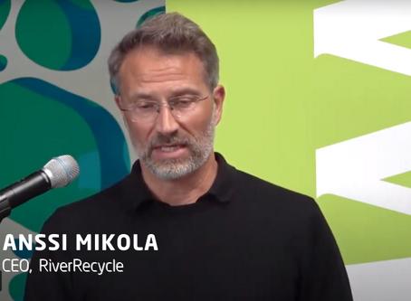 RiverRecycle @ Clean World Porvoo 01.09.2020