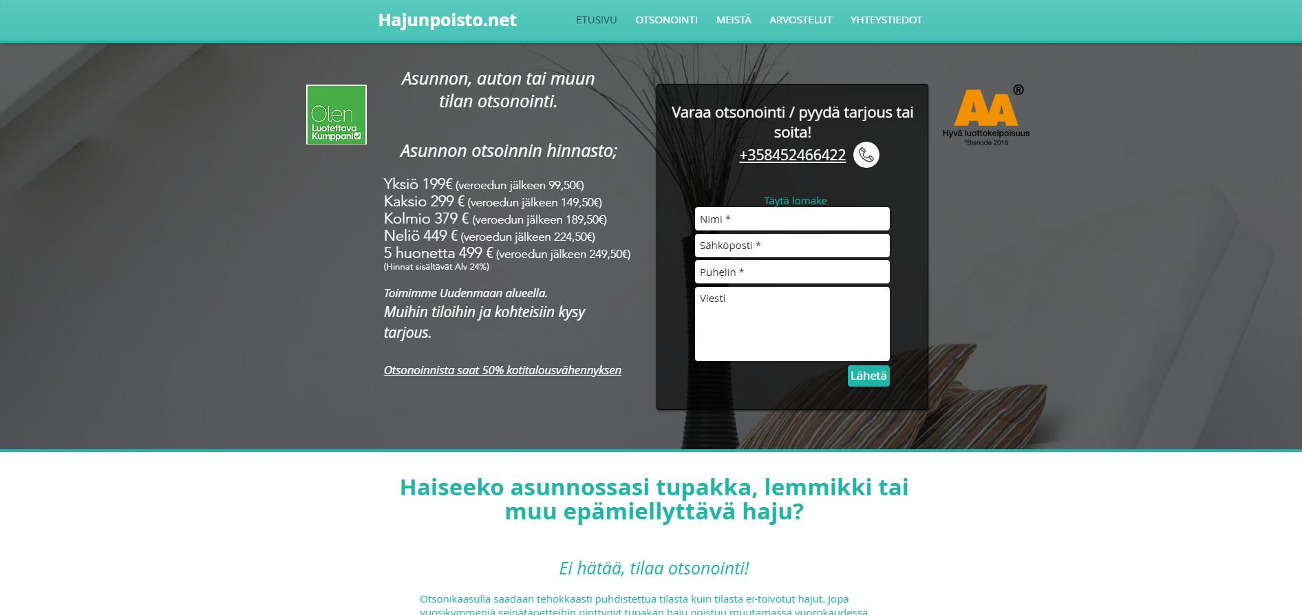 hajunpoisto.net