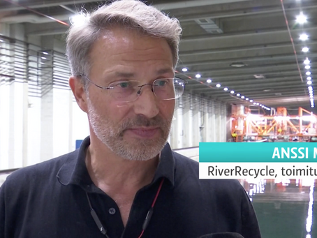 RiverRecycle @ Yle 07.10.2020