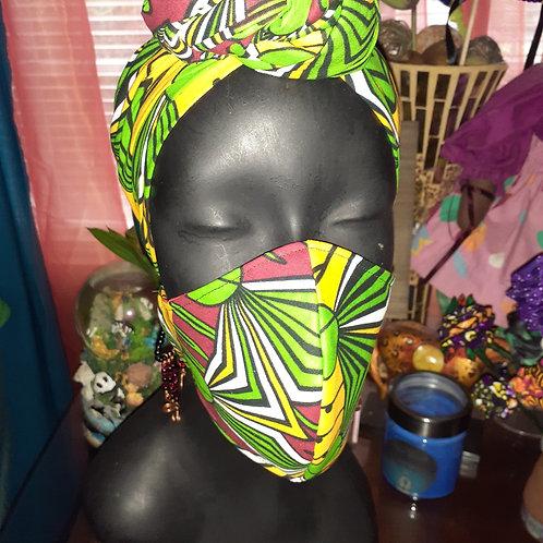 African Print 2pc.Set