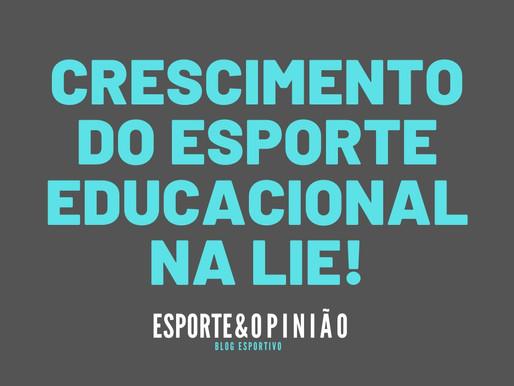 Esporte Educacional é a manifestação esportiva que mais cresce na Lei de Incentivo ao Esporte