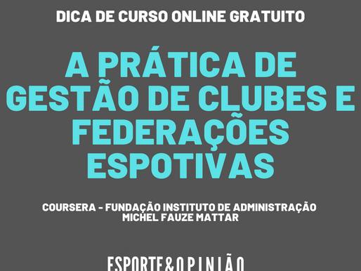 Dica de curso online gratuito de Gestão Esportiva da FIA no coursera.