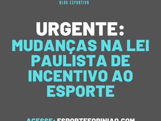 Alteração no PIE-ICMS mudará dinâmica no esporte paulista.  Secretaria ganhará protagonismo.