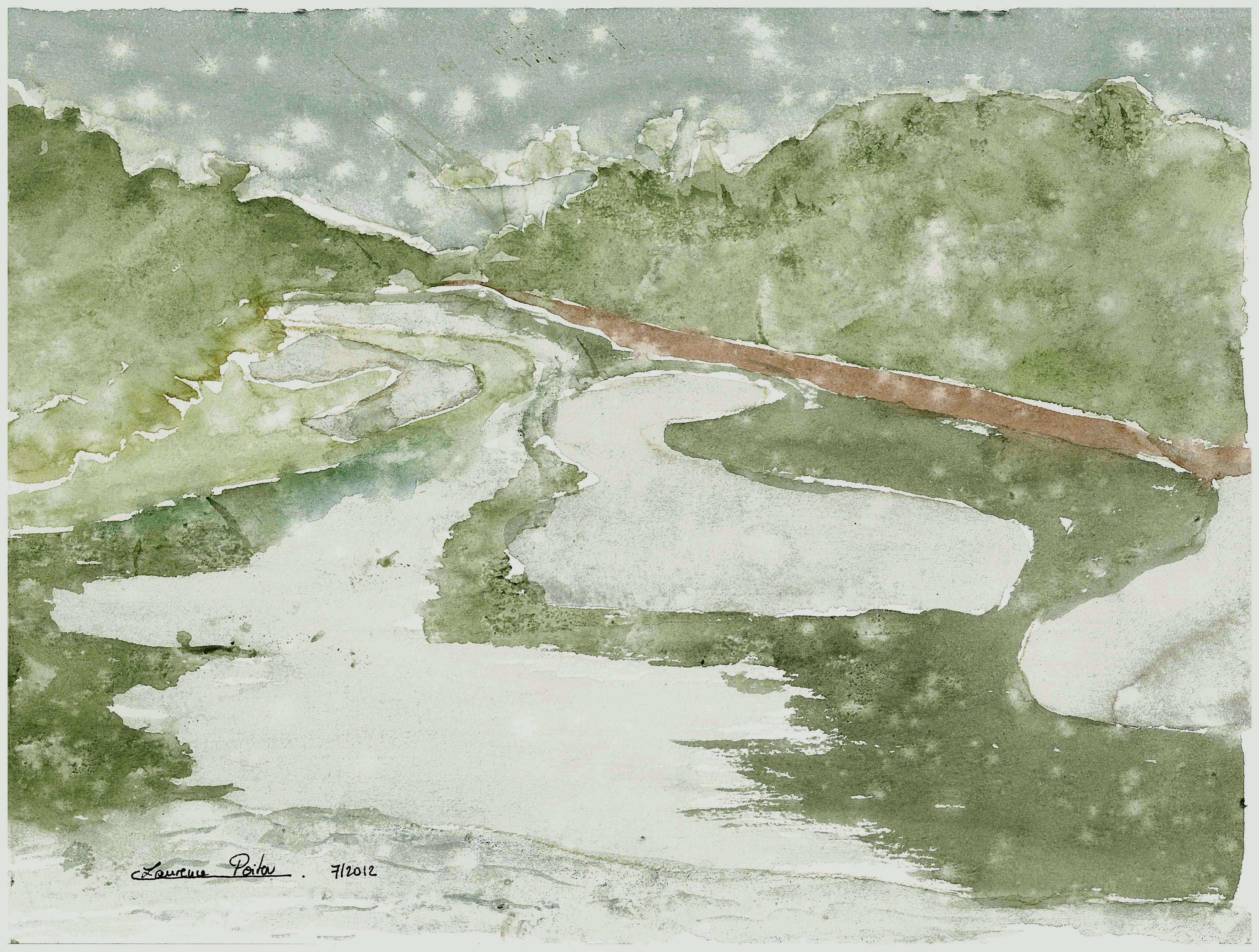 Rêveries au bord de la rivière