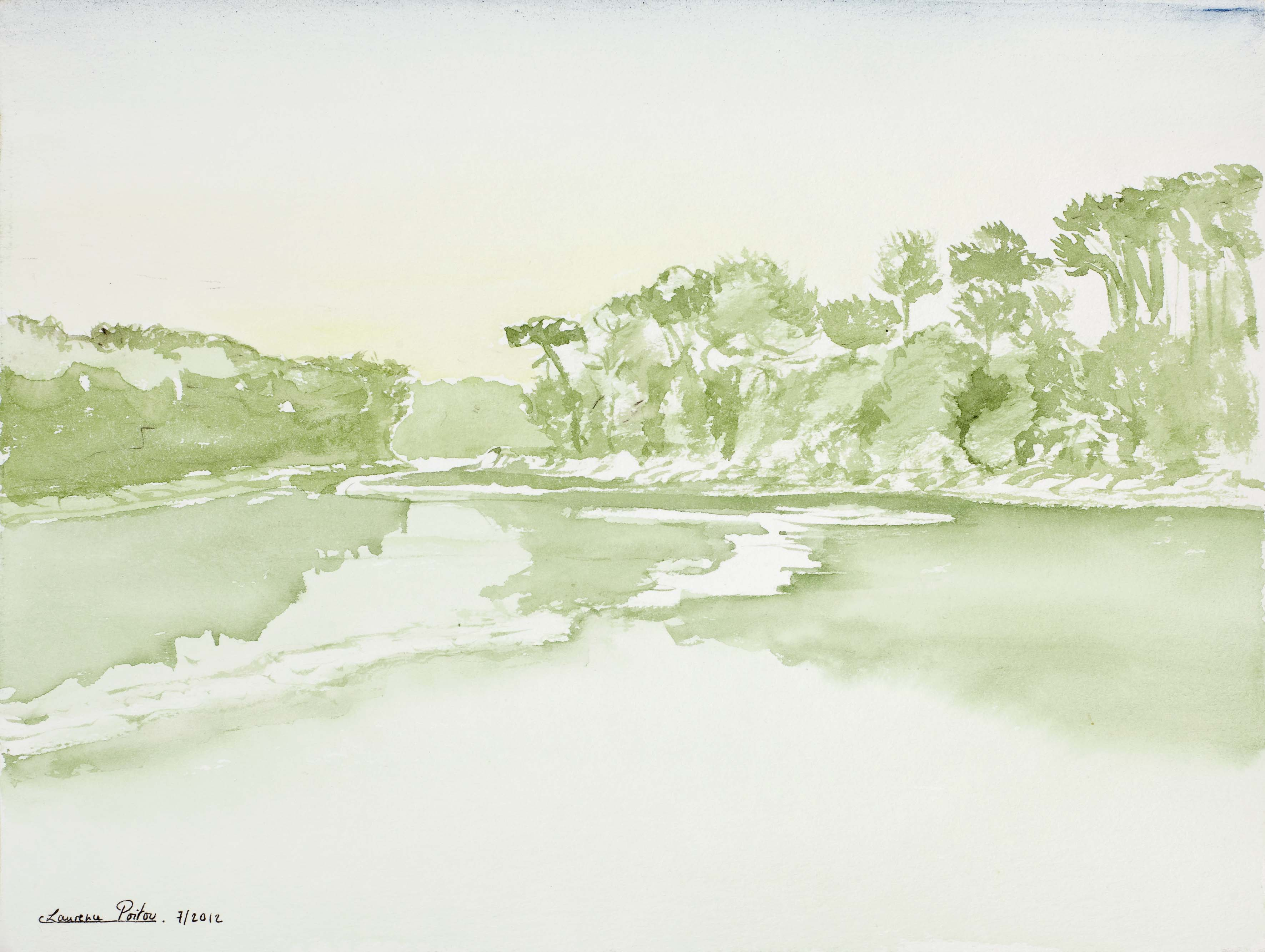 Rêveries au bord de la rivière 3