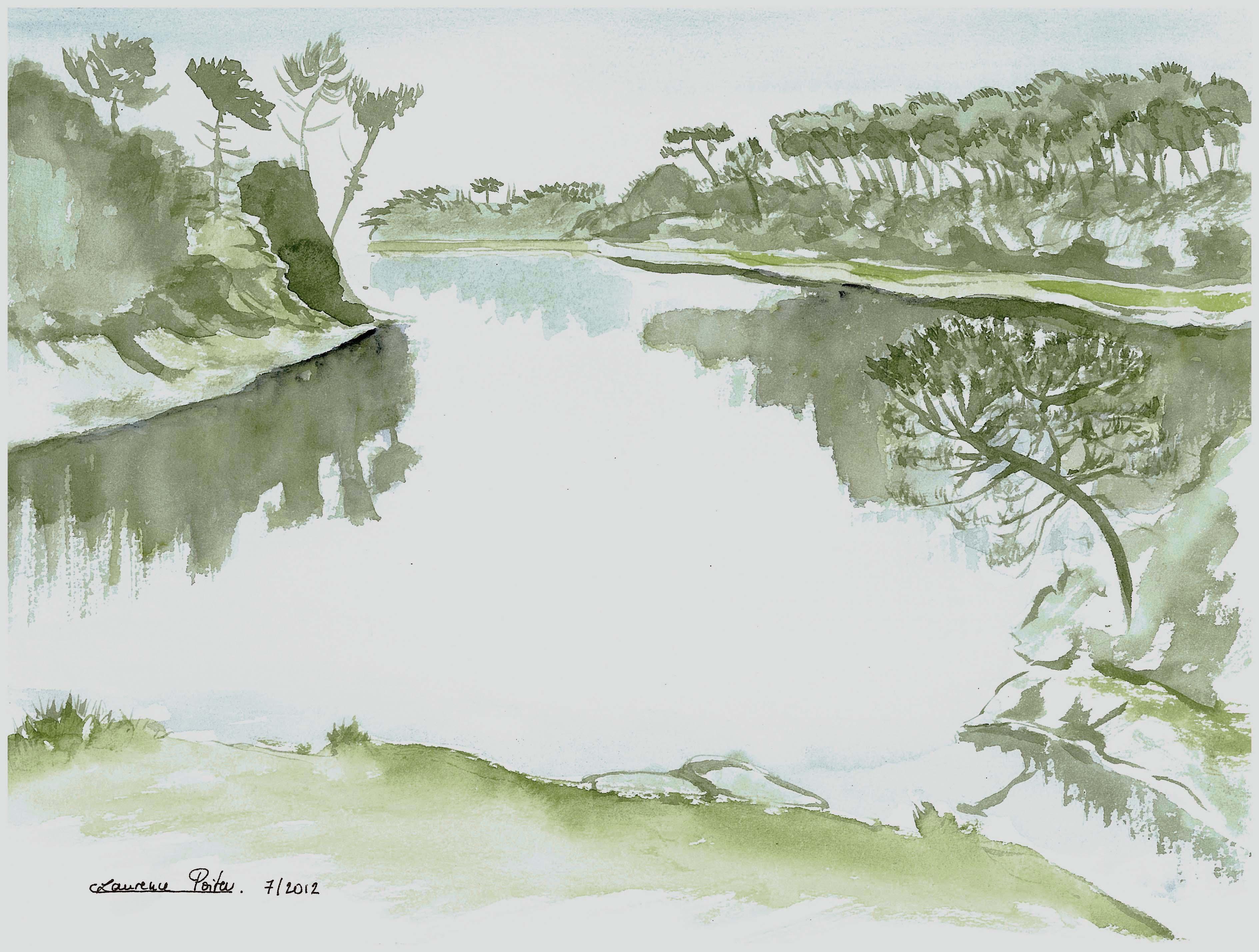 Rêveries au bord de la rivière 2