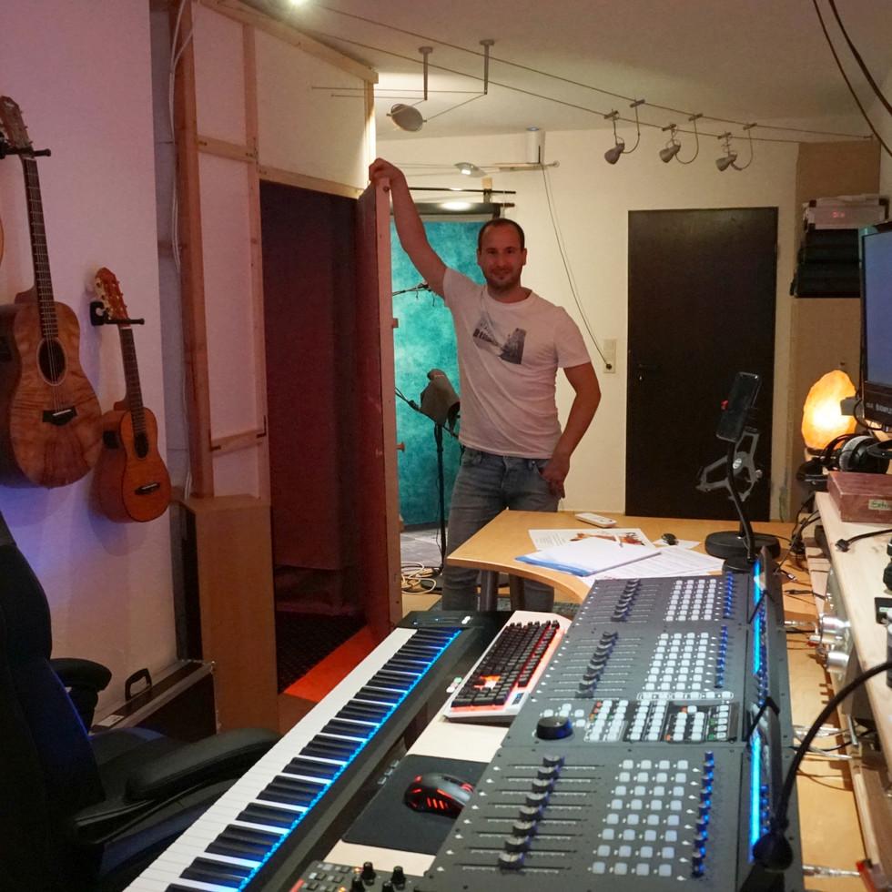 Steffen Schlösser im Studio