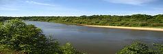 Участки вдоль берега реки