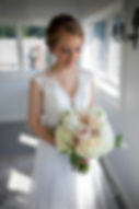 close up of Bride holding her bouquet 14