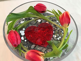 Hearts and Tulips Seven and One Half Inc