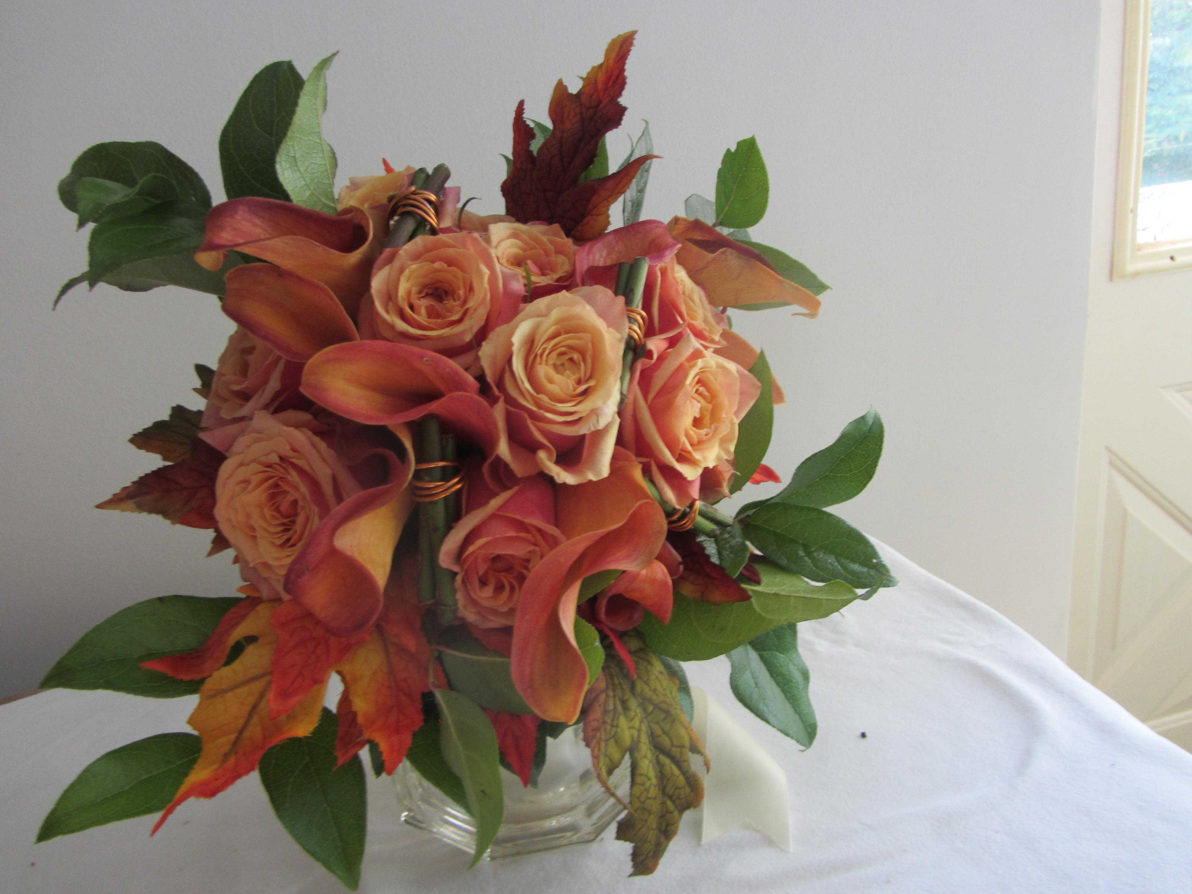 Golden Haze Bouquet