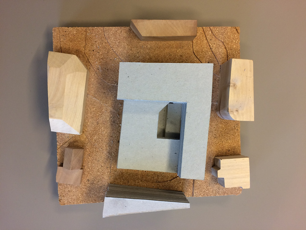 Ingenting kan erstatte en håndfast modell når vi evaluerer bygningsformer