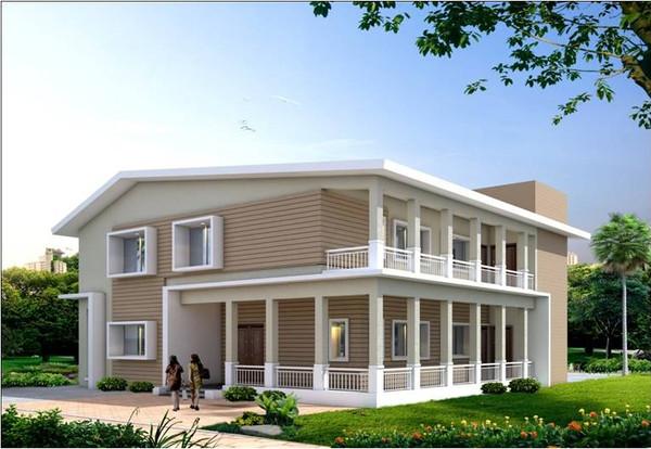 Contemporary yet classy home in Lonavla