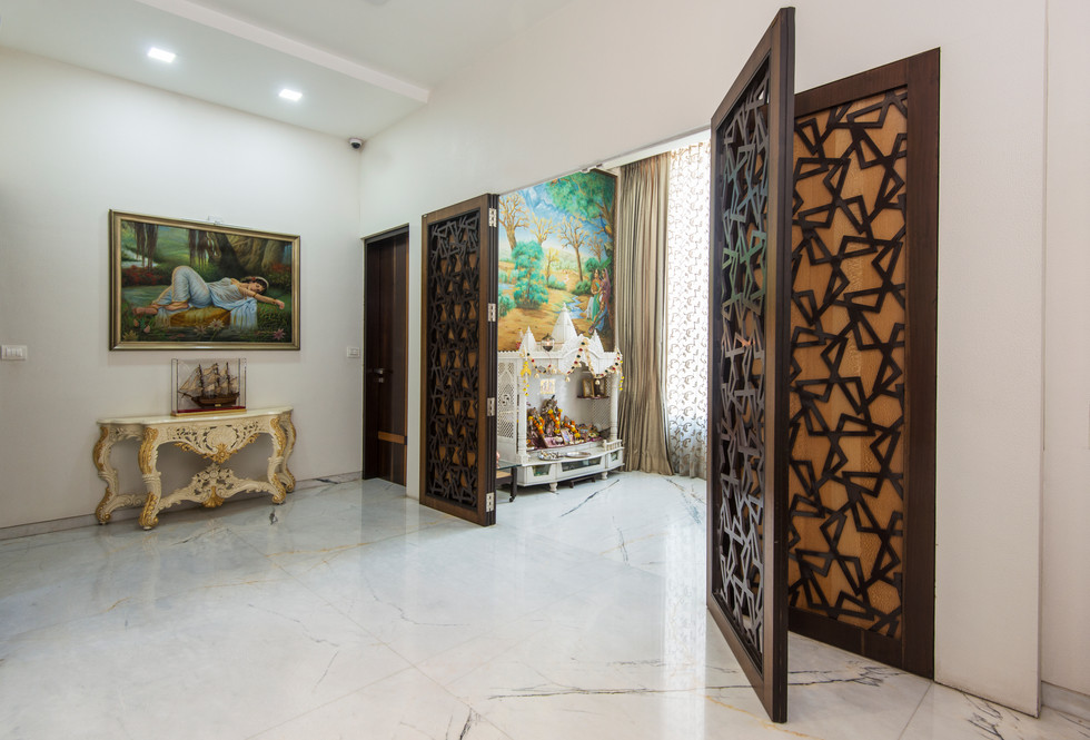 Puja Room- Feel the calm