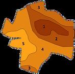 carte de type de sols