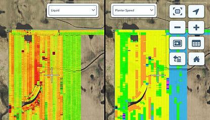 impact vitesse dose precision planting
