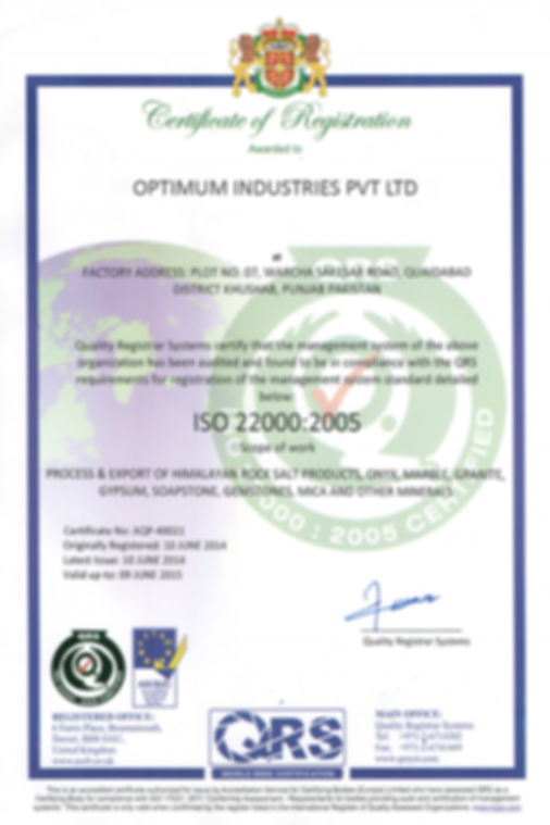 ISO 22000 _ 2005 Year 2014 -15.png