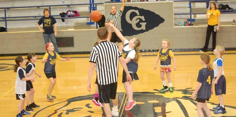 3rd grade basketball 02-01-2014