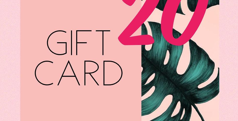 GIFT CARD TWENTY //