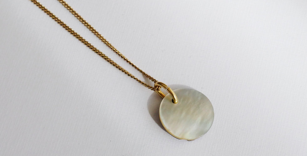 MOTHER PLATE // NECKLACE