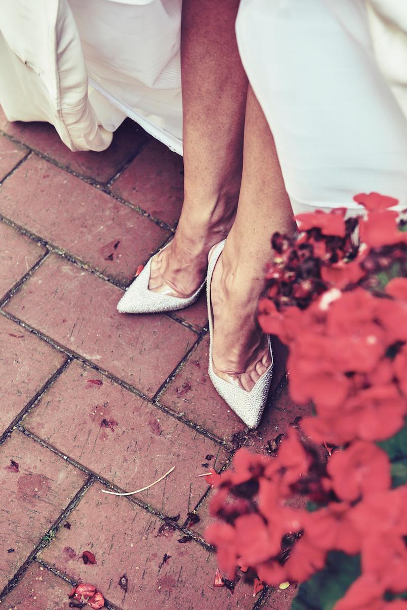 my wedding shoe
