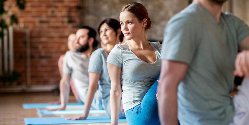 Yoga på jobbet. Företagsyoga och friskvård i Göteborg och Kungsbacka