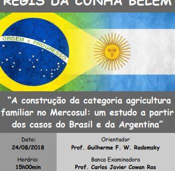Defesa de Tese de Doutorado - Régis Belém