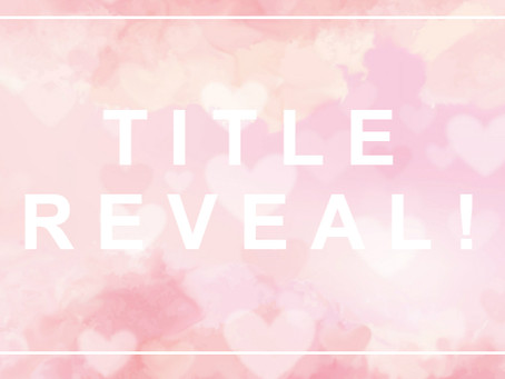*Title Reveal!* THE BUTTERFLY FINALE returns!