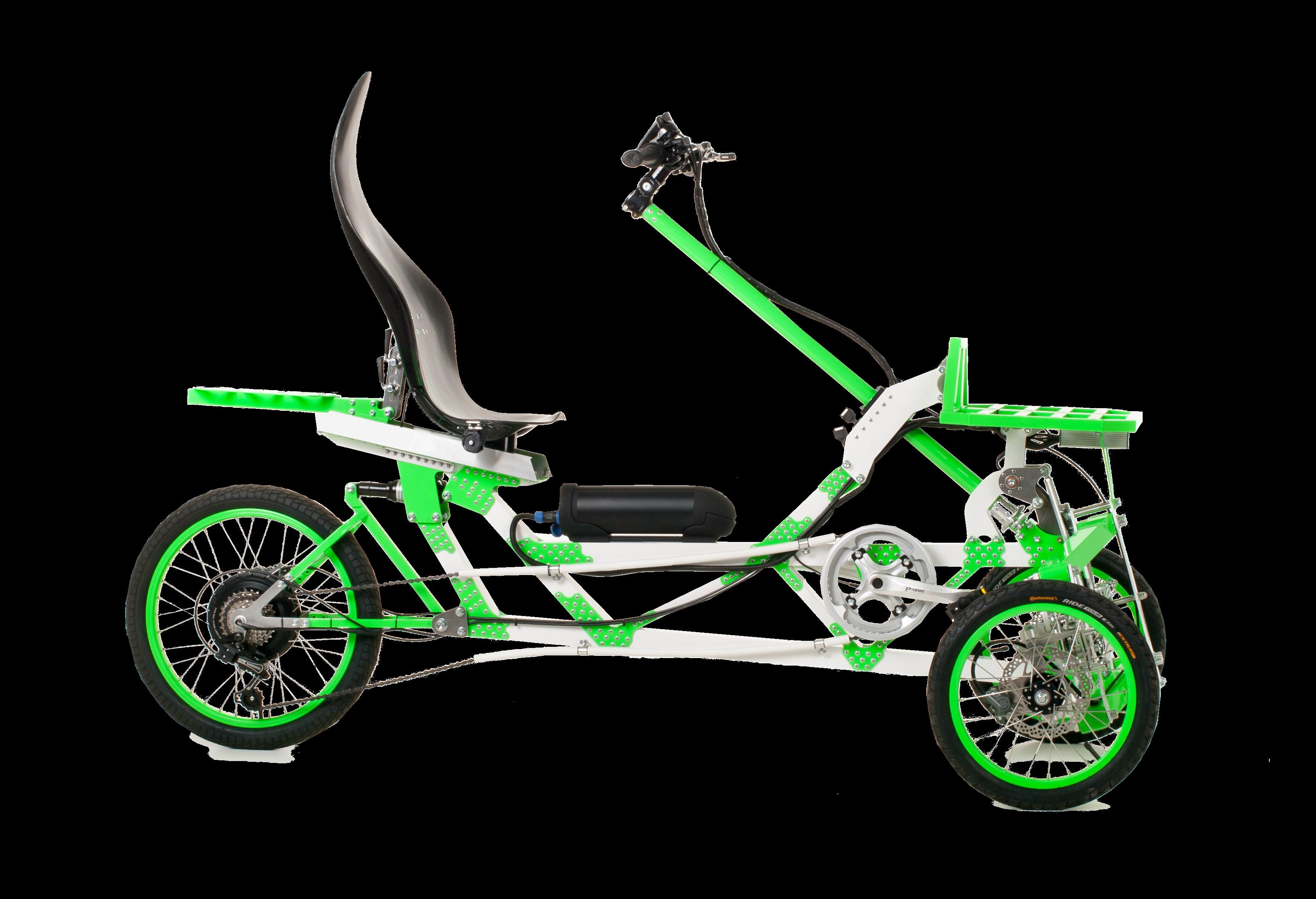 Semi-recumbent Bike
