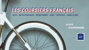Couverture du site Les Coursiers Français