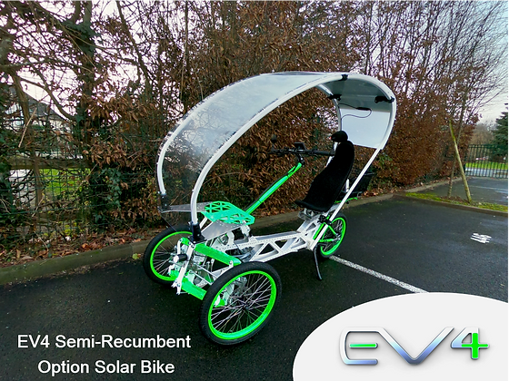 Semi-recumbent / Solar bike
