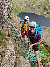 Guided Climbing on Dow Crag - Lake District