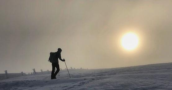 Winter Walking on Skiddaw