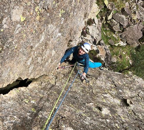 Rock Climbing at Goat Crag Borrowdale