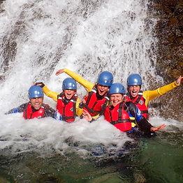 Waterfall fun in Church Beck