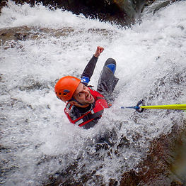 Canyoning in Church Beck