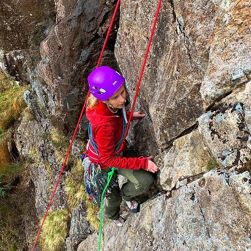 Rock Climb in Langdale