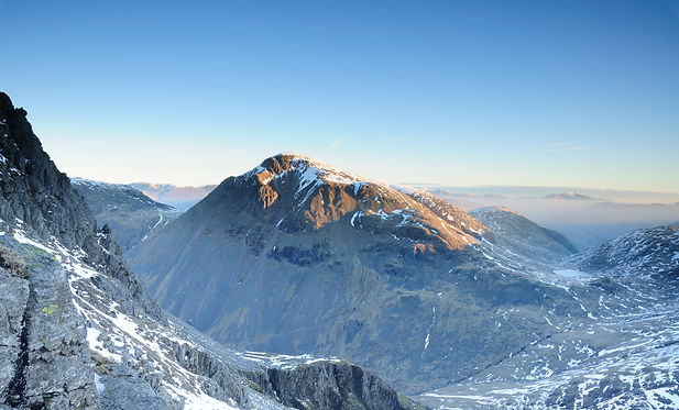 Great Gable at dawn, English Lake District - guided walking with Lake District Mountaineering