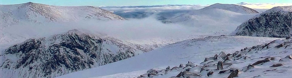 Views across the Cairngorms
