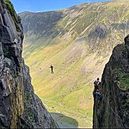 Via ferrata Lake District