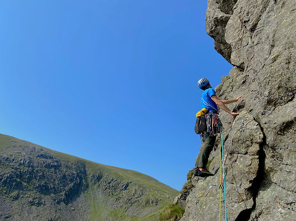 Dow Crag - Murray's Route